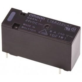 G6RN-1 DC24, 24VDC 8A SPDT (1 Form C) Röle