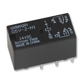 G5V-2-H1 DC24, 24VDC 1A DPDT (2 Form C) Röle