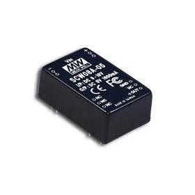 SCW08B-05, 18-36Vin 5Vout 1600mA 8W DC/DC Konvertör