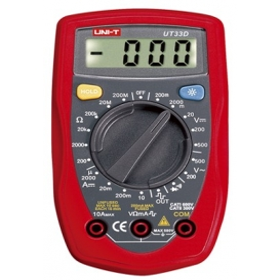 UT-33D, UT33D Dijital Multimetre