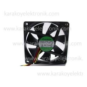 Sunon PKD1207PHV1-A, 70x70x15mm 12VDC 2.8W 3 Kablolu Fan