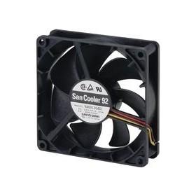 SanAce, 9G0912H201, 12VDC 0.23A 3 Kablolu Fan