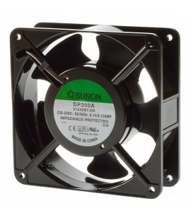 DP200A 2123XBT.GN, 220VAC 120x120x38mm FAN