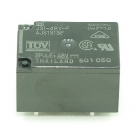 JS1-48V-F, 48VDC 10A, 1 Form C Röle