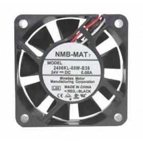 2406KL-05W-B39, 24VDC 0.08A 3 Kablolu Fan