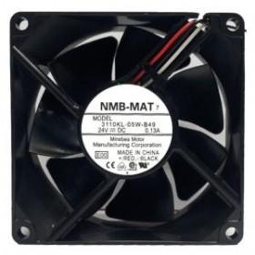 3110KL-05W-B49, 24VDC 0.13A 3 Kablolu Fan