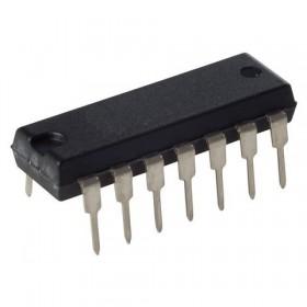 TL074CN, TL074, DIP-14 Entegre