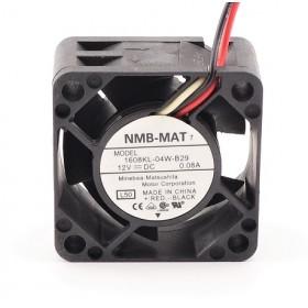 1608KL-04W-B29, 12VDC 0.08A 3 Kablolu Fan