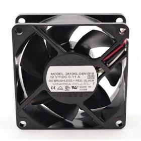 2810KL-04W-B19, 12VDC 0.11A 3 Kablolu Fan