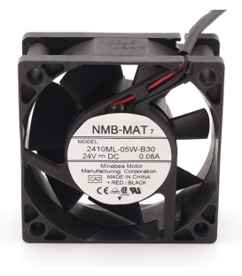 2410ML-05W-B30, 24VDC 0.08A 2 Kablolu Fan