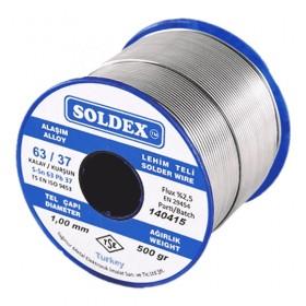 Soldex 630755 0.75mm 500gr Sn:63 Pb:37 Lehim Teli