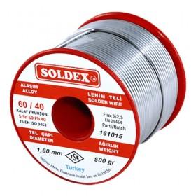 Soldex 601605 1.60mm 500gr Sn:60 Pb:40 Lehim Teli