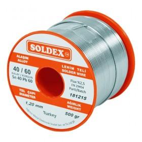 Soldex 401605 1.60mm 500gr Sn:40 Pb:60 Lehim Teli