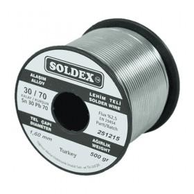 Soldex 301605 1.60mm 500gr Sn:30 Pb:70 Lehim Teli