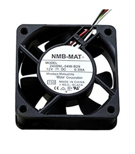 2408NL-04W-B29, 60x60x20mm 12VDC 0.09A 3 Kablolu Fan