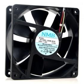 4715KL-05W-B39, 24VDC 0.40A 3 Kablolu Fan