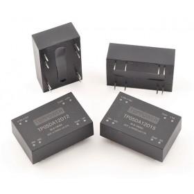 TP05DA48D15W, 18-72Vin ±15Vout ±0.17A DC/DC Konvertör