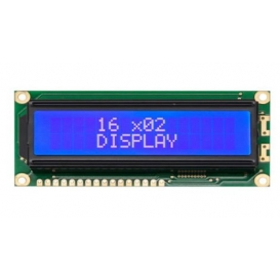 WH1602J-TMI-CT, 2x16 Karakter LCD