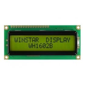 WH1602B-YYH-ETK, 2x16 Karakter LCD