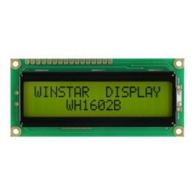 WH1602B-NYG-CT, 2x16 Karakter LCD