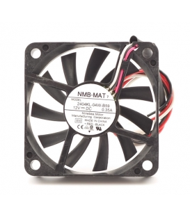 2404KL-04W-B59, 60x60x10mm 12VDC 0.35A 3 Kablolu Fan