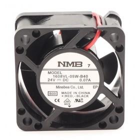 1608VL-05W-B40, 24VDC 0.07A 2 Kablolu Fan