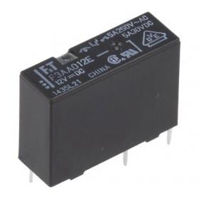 F3AA012E, 12VDC 5A, 1 Form A Röle