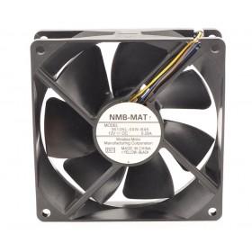 3610KL-04W-B46, 92X92X25mm 12VDC 0.28A 4 Kablolu Fan