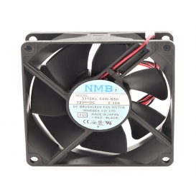 3110KL-04W-B50, 80X80X25mm 12VDC 0.30A 2 Kablolu Fan