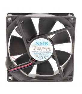 3610ML-05W-B49, 24VDC 0.16A 3 Kablolu Fan