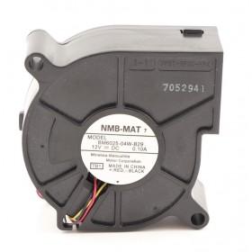 BM6025-04W-B29, 60X60X25mm 12VDC 0.10A 3 Kablolu Salyangoz Fan