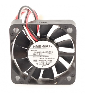 2004KL-04W-B59, 50X50X10mm 12VDC 0.14A 3 Kablolu Fan