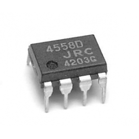 JRC4558D, 4558D, DIP-8 Entegre