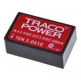TEN 3-0510, 5Vin 3.3Vout 600mA 3W DC/DC Konvertör