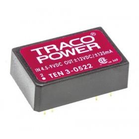 TEN 3-0522, 5Vin ±12Vout ±125mA 3W DC/DC Konvertör