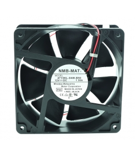4715KL-04W-B50, 119X119X38mm 12VDC 1.30A 2 Kablolu Fan