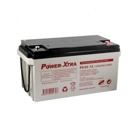 Power-Xtra 12V 65Ah Bakımsız Kuru Akü