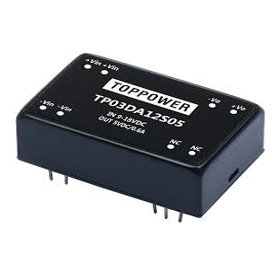 TP03DA48S15, 36-72Vin 15Vout 200mA 3W DC/DC Konvertör