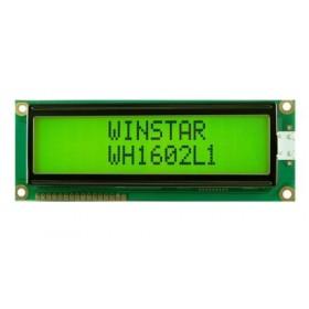 WH1602L1-YYH-JT, 2x16 Karakter LCD