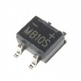 MB10S-0.5A, 500mA 1000V SMD Köprü Diyot