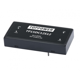 TP15DC24D15, 18-36Vin ±15Vout ±500mA DC/DC Konvertör