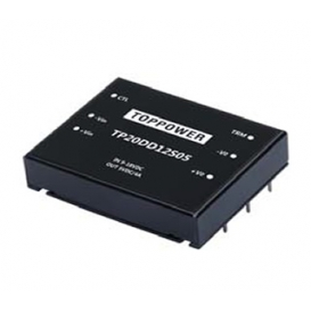 TP20DD48S03, 36-72Vin 3.3Vout 5.4A DC/DC Konvertör