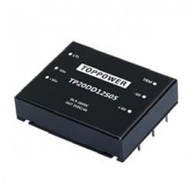 TP20DD48D15, 36-72Vin ±15Vout ±670mA DC/DC Konvertör