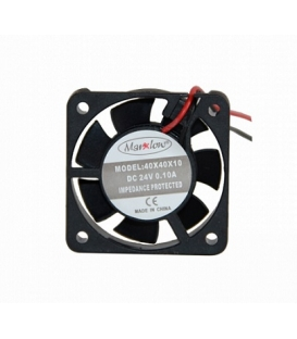 Marxlow, 40x40x10mm 24VDC 0.08A 2 Kablolu Fan