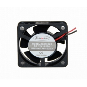 Marxlow, 40x40x20mm 12VDC 0.09A 2 Kablolu Fan