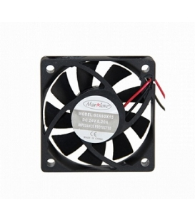 Marxlow, 60x60x15mm 24VDC 0.08A 2 Kablolu Fan