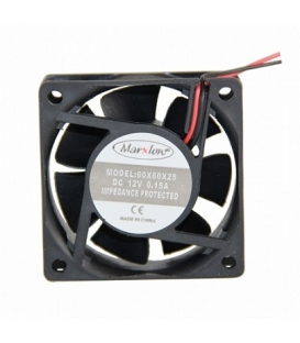 Marxlow, 60x60x25mm 12VDC 0.15A 2 Kablolu Fan
