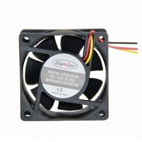 Marxlow, 60x60x25 12VDC 0.15A 3 Kablolu Fan