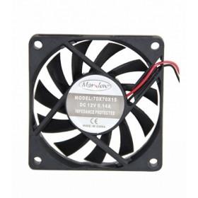 Marxlow, 70x70x15 12VDC 0.14A 2 Kablolu Fan