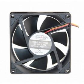 Marxlow, 80x80x25 12VDC 0.15A 3 Kablolu Fan